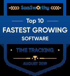 SaaSworthy award for Timecamp